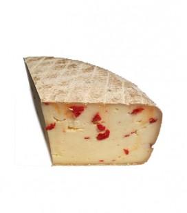 Tomme d'Espelette piment - poivron rouge